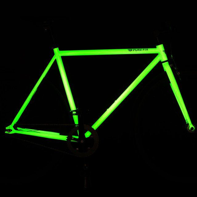 image: Glow in the dark bike frame by andy-rice