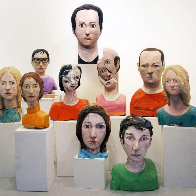 """image: """"Cabezas trocadas"""", Iván Cantos en Twin Gallery by twin"""