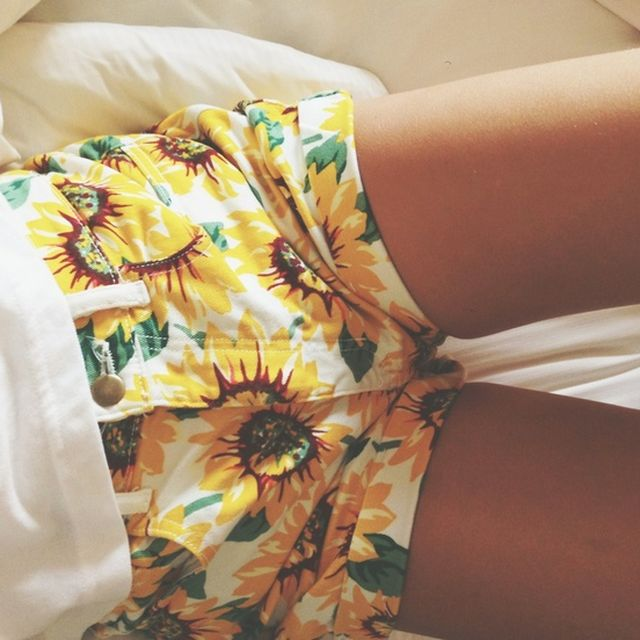 image: sunflower shorts by modernghosts