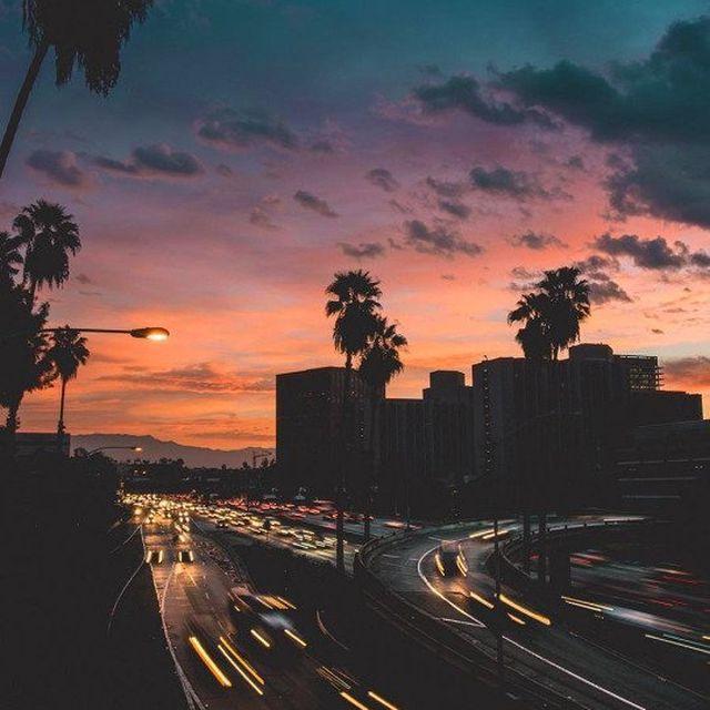 image: City lights by blanmaza