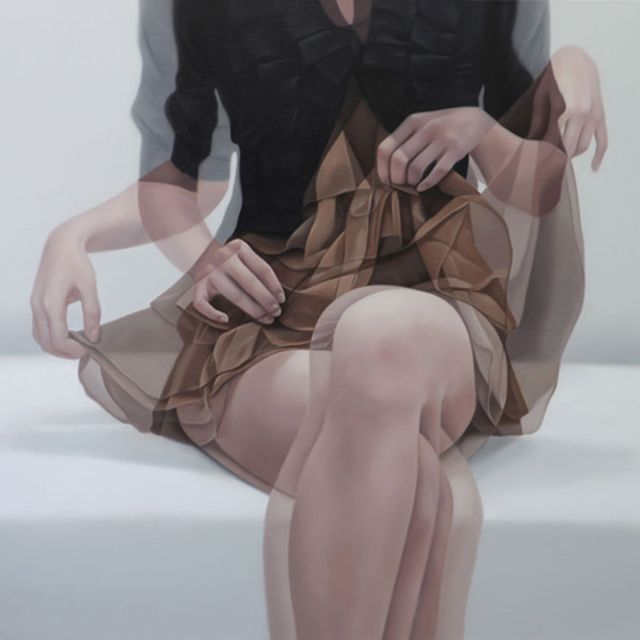 image: The Blurred Effect Paintings by Ho-Ryon Lee by pennycentury