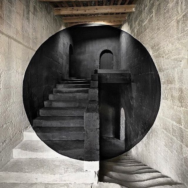image: Anamorphose by Georges Rousse #georgesrousse by avantarte