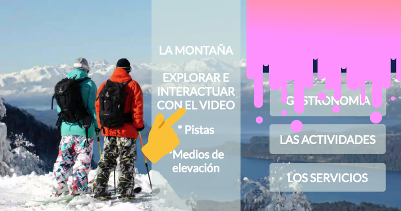 image: Nieve Interactiva by wowvideo