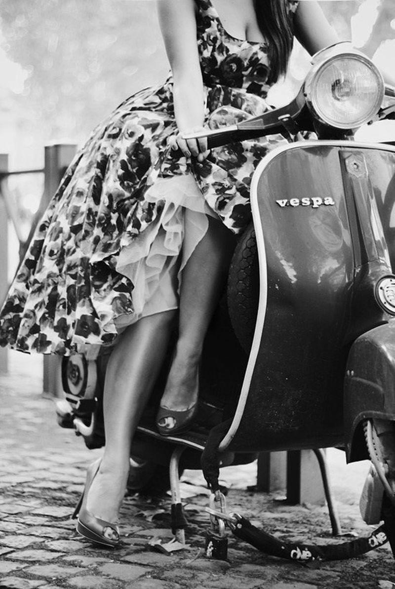 image: Vintage vespa by marina