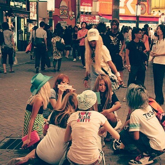 image: Tokyo teens by ergorgue
