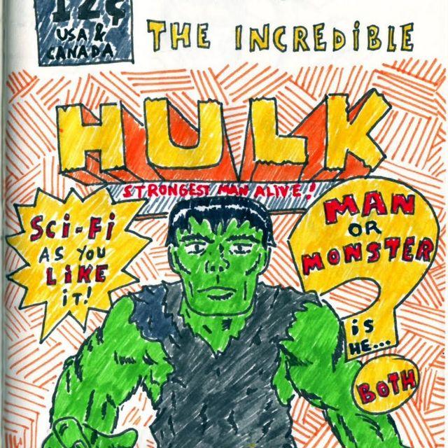 image: Incredible Hulk by catsdontfly