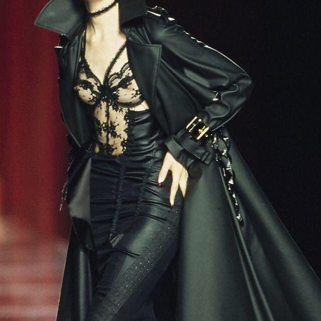 image: Dior in Black by latenightinparis