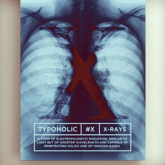 image: #typoholic - X by guillermovazquez