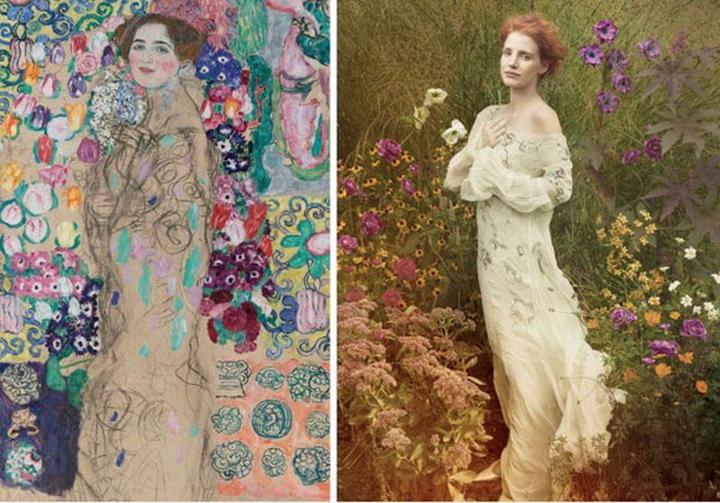 image: Vogue loves art by missatlaplaya