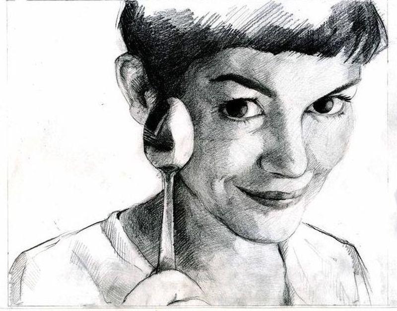 image: todas quisimos ser Amelie by tiscarespadas