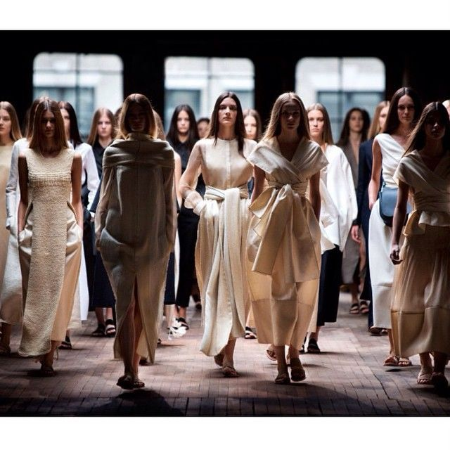 image: saltcalifornia:@therow Spring 2015 #cream #ivory #bu... by tiresomeorchid