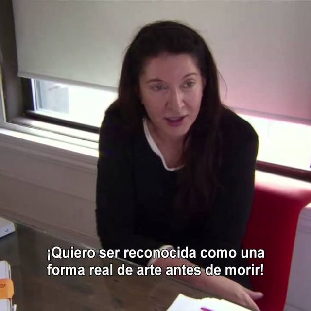 video: MARINA ABRAMOVIC THE ARTIST IS PRESENT by paubacardit