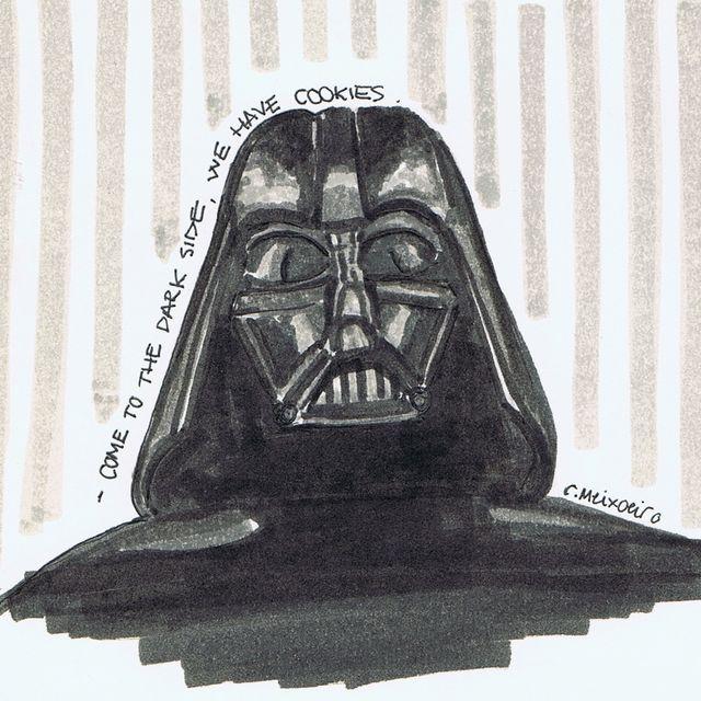 image: Darth Vader by sacagrapas