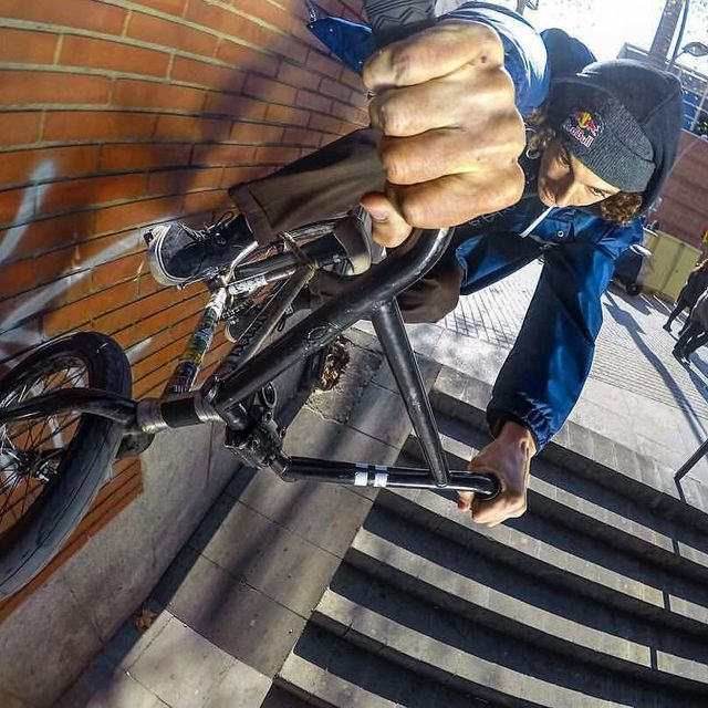 image: last year @gopro by @lntstefan 💃🏼 #bmx #gopro #bcnkills by simobarraco