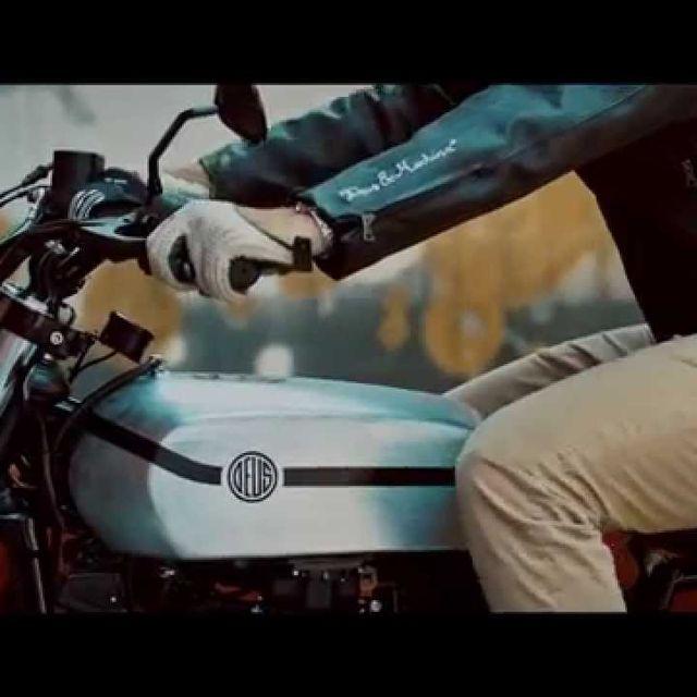 video: Deus Ex Machina Yard Built XV950 'D-Side' - YouTub by alexaccion