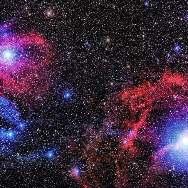 """image: Scorpius Red and....""""Search the scriptures; for in them ye think ye have eternal life: and they are they which testify of me."""".Cosmic dust clouds dim the light of background stars. But they also reflect the light of stars nearby. Since bright stars... by thehubblescope"""