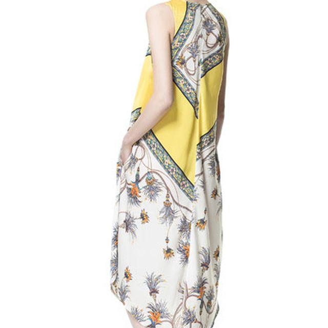 image: vestido estampado asimétrico by sialsiquiero