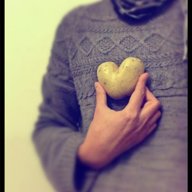 image: POTATO HEART by paubacardit