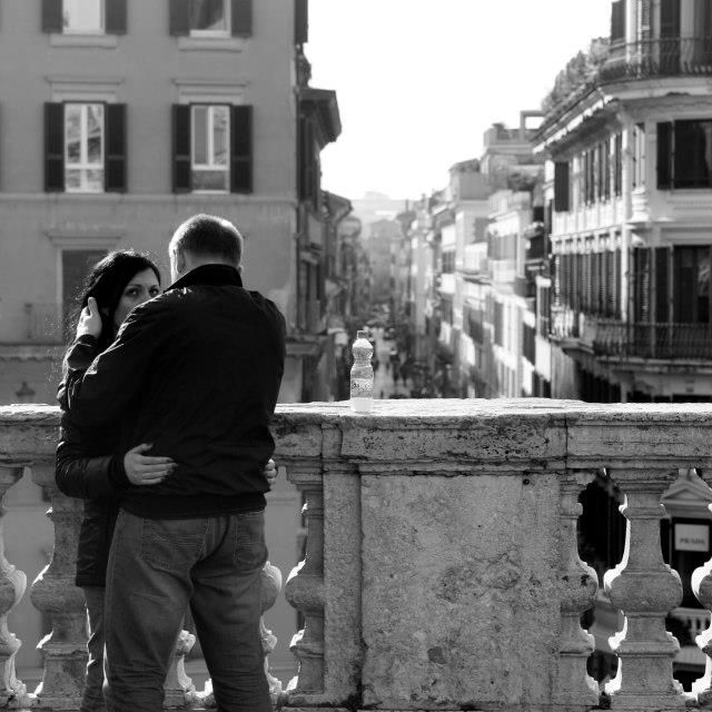 image: Lovers in Rome by jdiaz