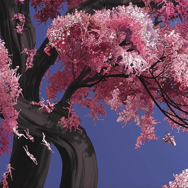"""image: @jesslicht """"I want to do with you what spring does with the cherry trees."""" by ratedmodernart"""