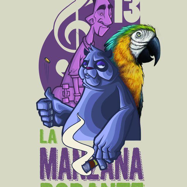image: MNZNA RDNTE by lamanzanarodante