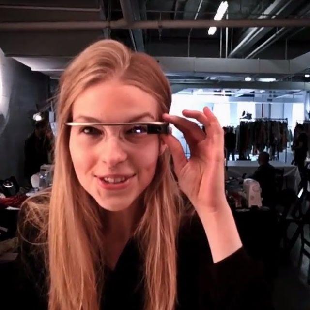 video: Diane von Furstenberg - google glasses by jorge_lana