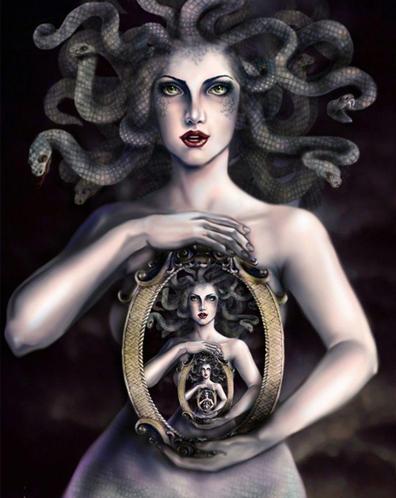 image: Medusa by ckelyknickknack