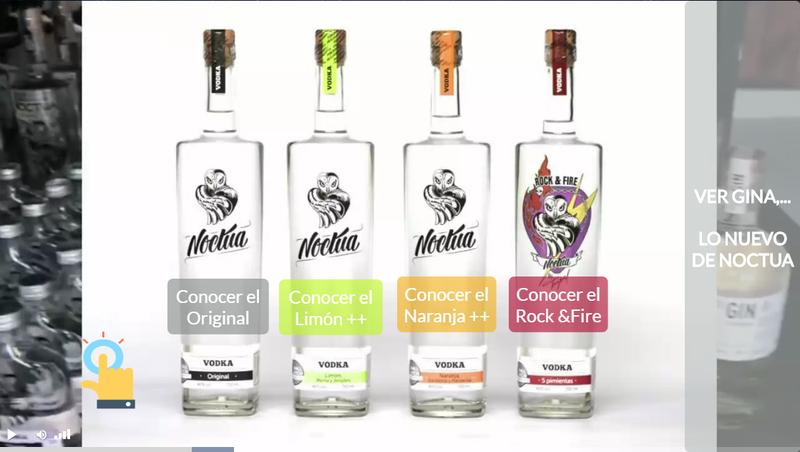 image: Video Interactivo - conoce y elige tu sabor by wowvideo