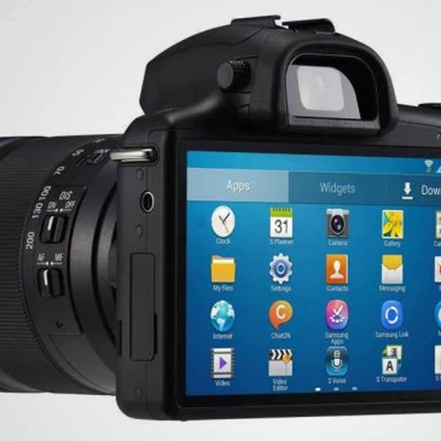 image: Samsung Galaxy NX Android Digital Camera by goyette