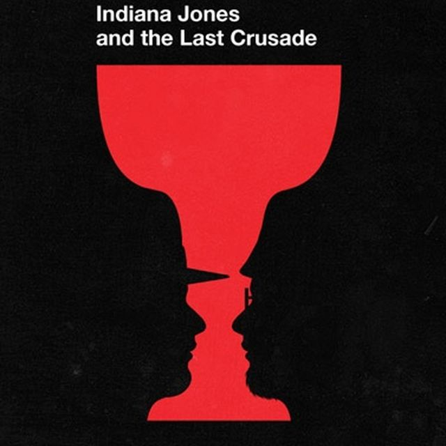 image: Indiana Jones and the Last Crusade by Saracho