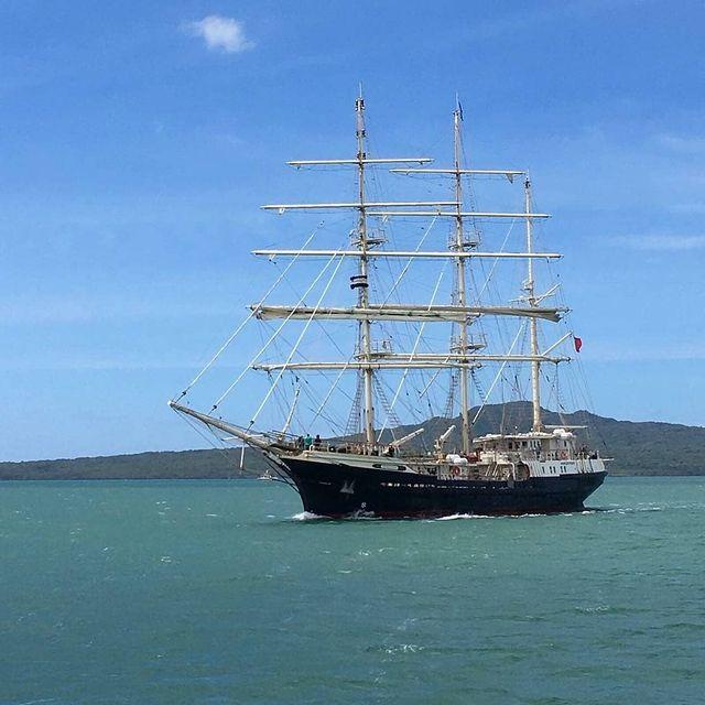 """image: """"Let Your Dreams Set Sail""""Sailing Hauraki.....? sent to us by @nilofarbawa by sailing_boats"""