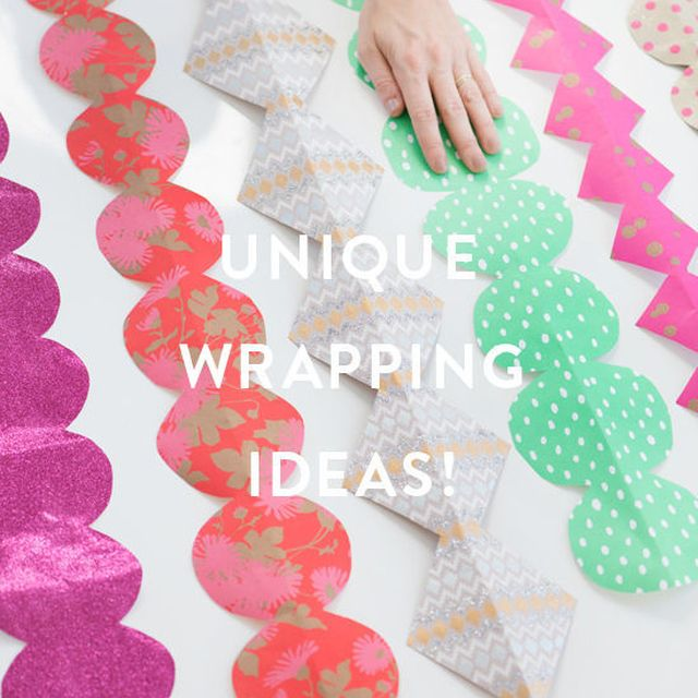image: GIFT WRAPPING IDEAS! by designlovefest