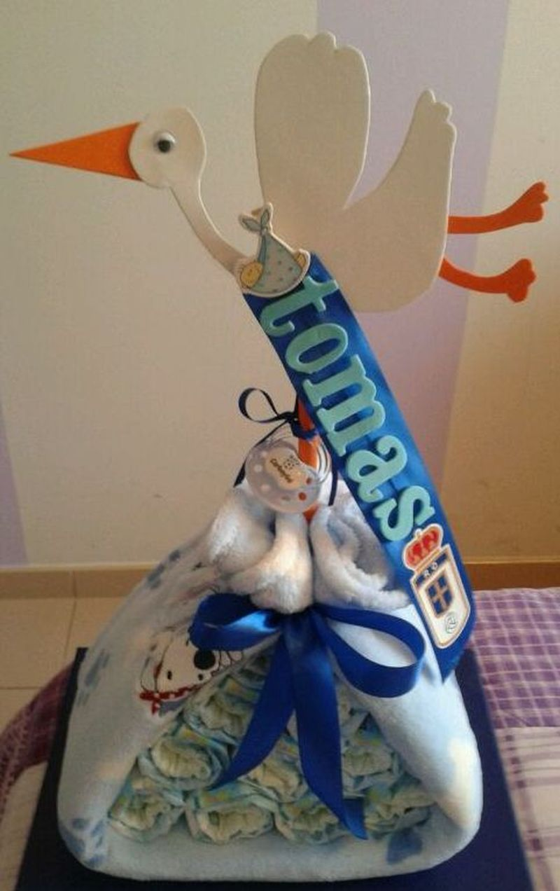 image: Tartas de Pañales, regalos originales para bebés by evaglesias