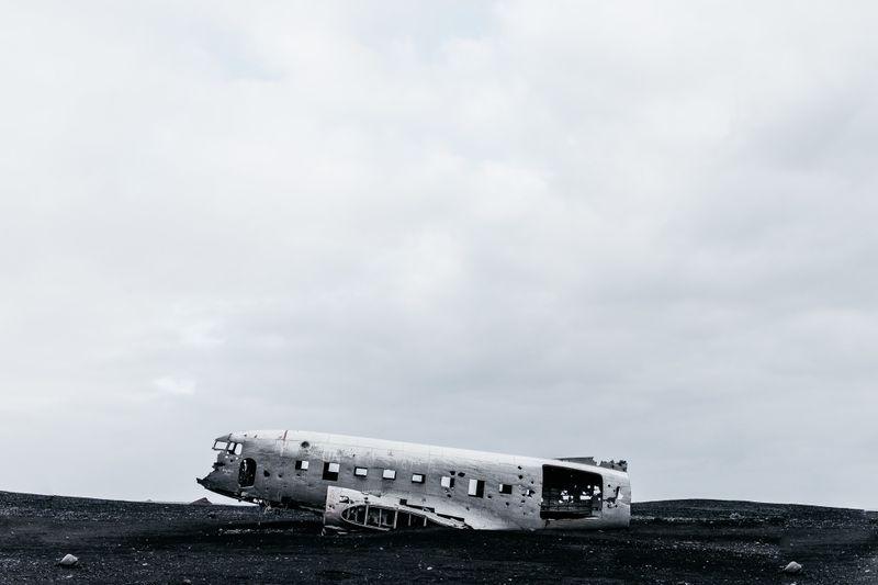 image: Solheimasandur Plane by jongrado