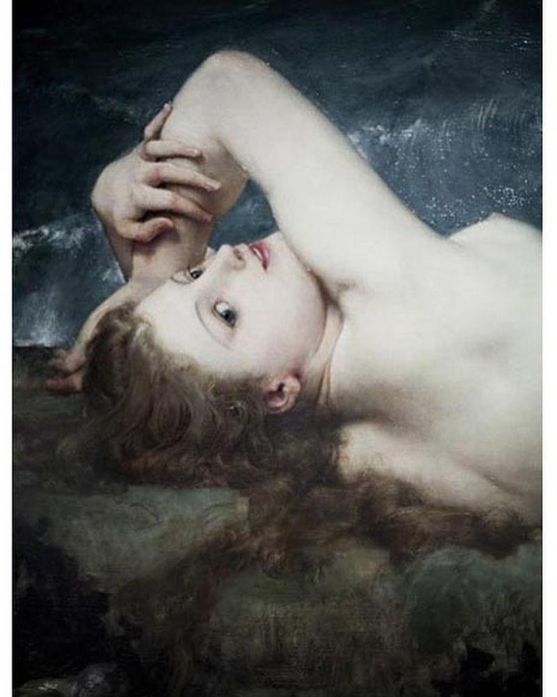 image: La perla y la...Paul Baudry (1862) by mardelhoyo