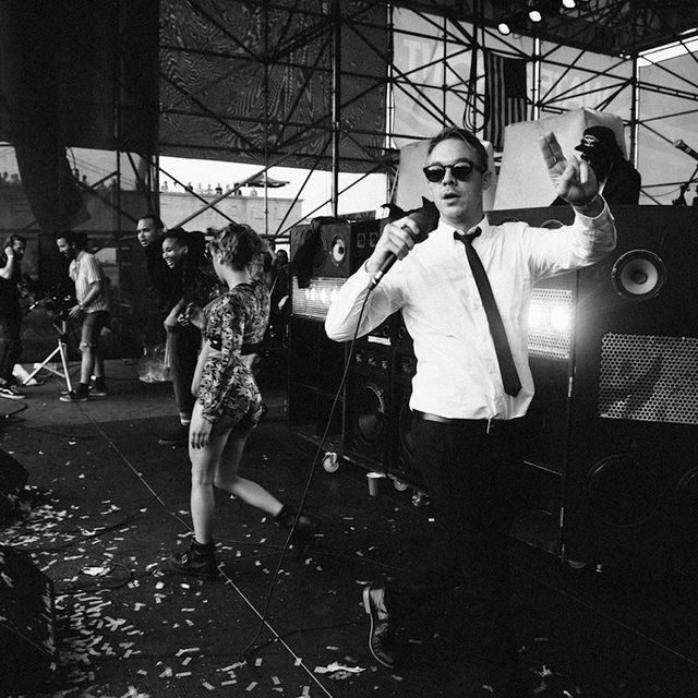 image: Diplo (Major Lazer) and friends by sermonroy