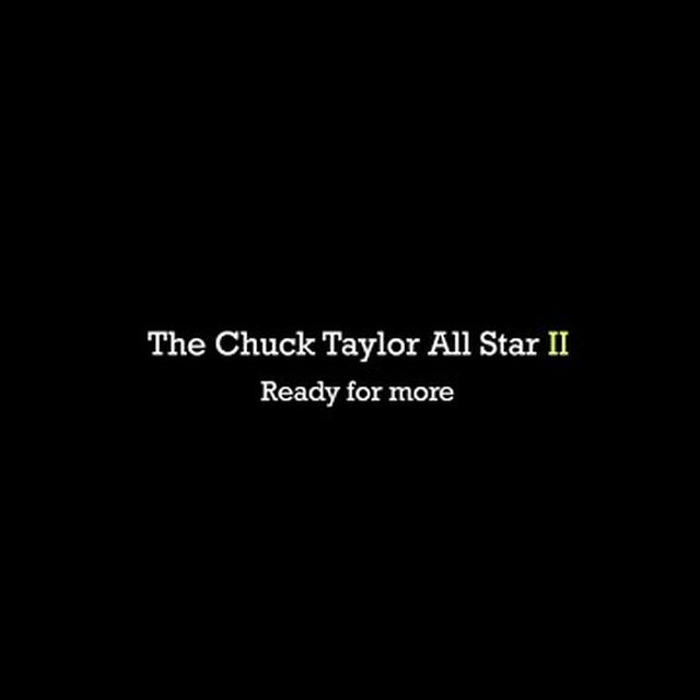 video: Converse Chuck Taylor All Star II by jason