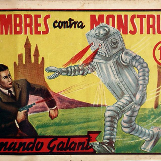 image: Hombres contra monstruos by dinacomm