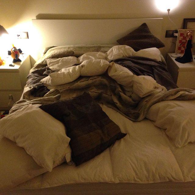 image: #23 José León | My Unmade Bed by alvarodols