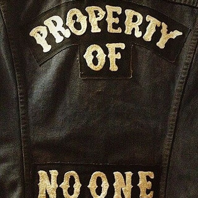 image: PROPERTY OF NO ONE by thejoysofliving
