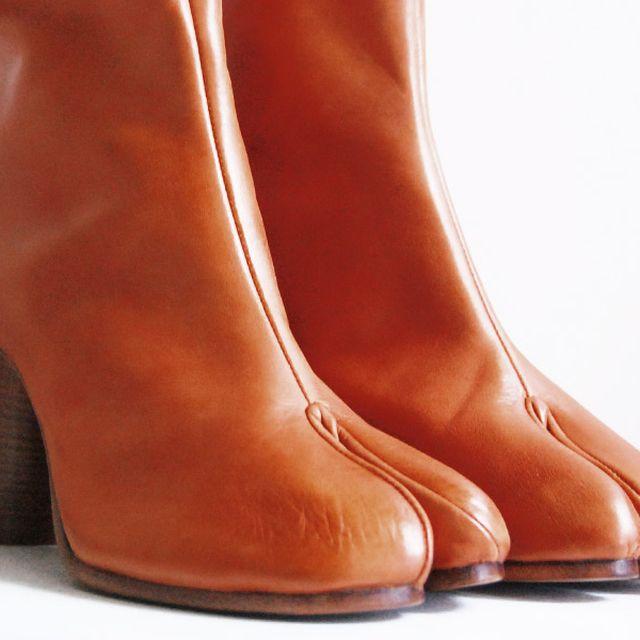 image: Margiela Japanese inspired tabi boots by tommyookikuma