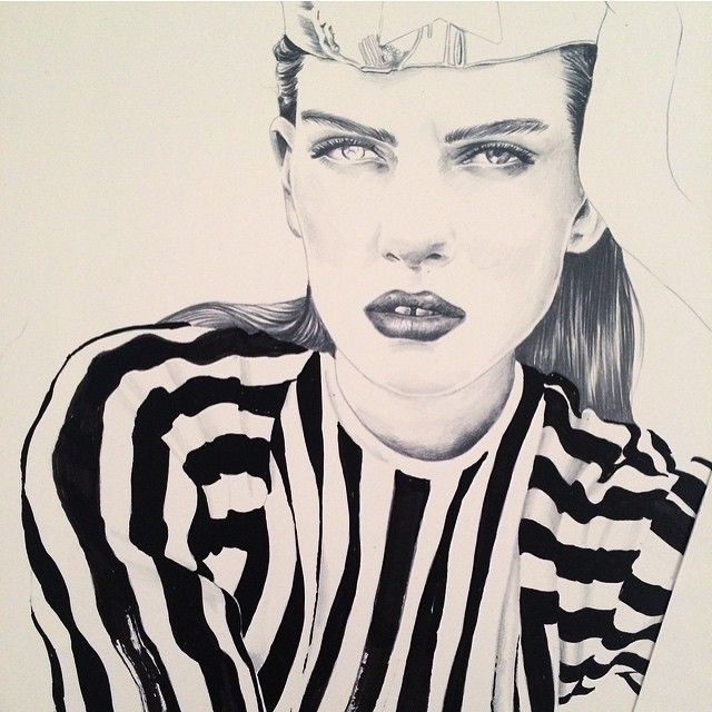image: A lot of stripes these days #wip by esra_roise