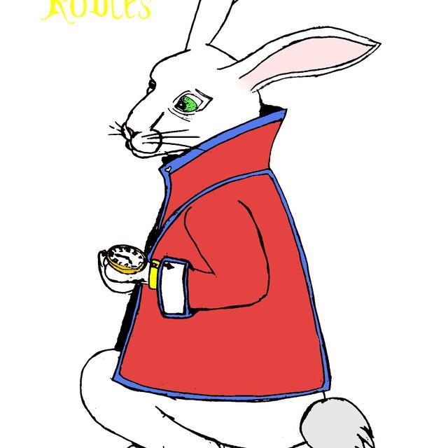 image: White Rabbit by Alex Robles by alex_urban_pop