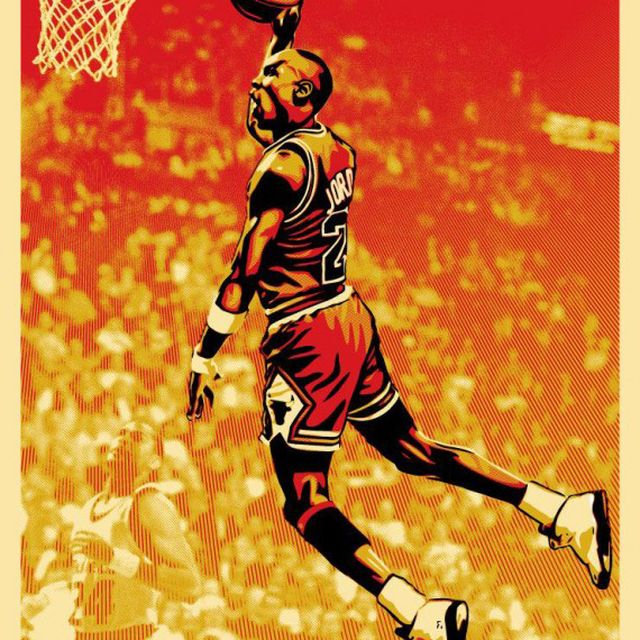image: Michael Jordan by gustavo-cuellarl