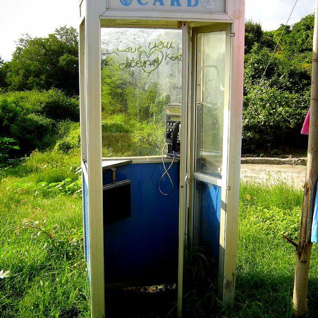 image: Mayreau's telephone box by ergorgue