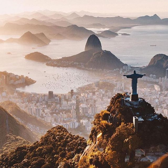 image: High above Christ the Redeemer by southamerica