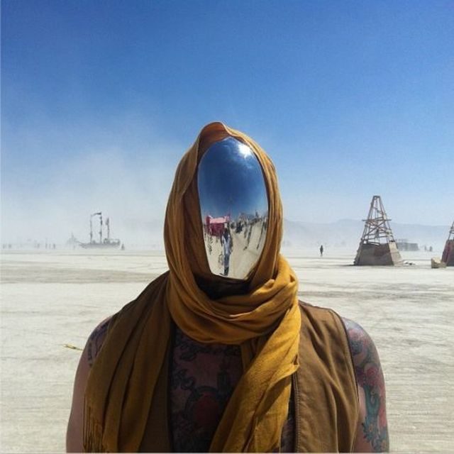 image: No Face Chrome Mask by estad