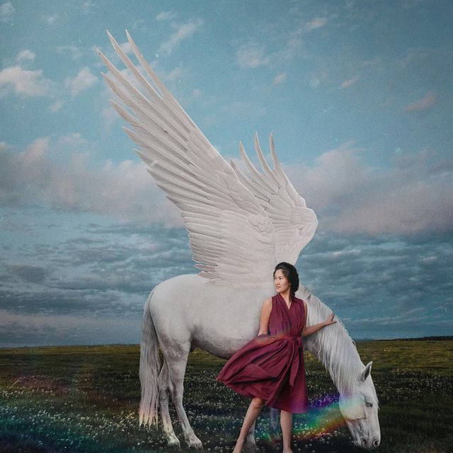 "image: 603-""Not all unicorns have horns, some have wings instead"" said my 7-year-old-cousin. #whp🦄 by hellokatrinaaa"
