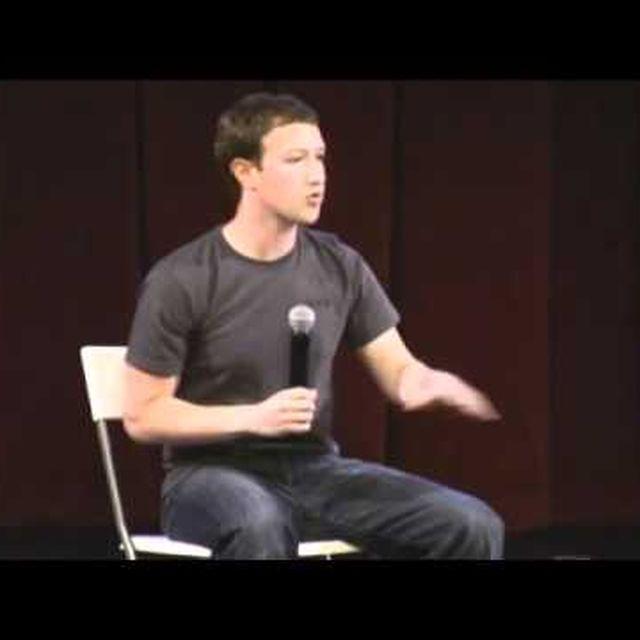 video: Mark Zuckerberg at Startup School 2011 by Selbor