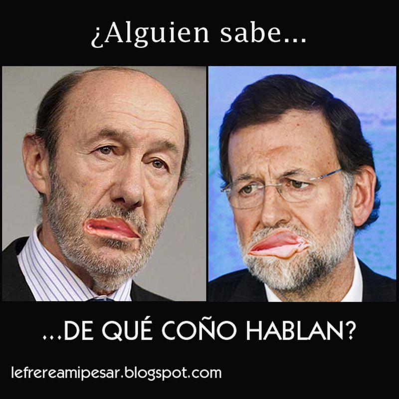 image: ¿De qué coño hablan? by lefrere